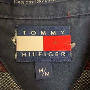 Tommy Hilfiger Shirts - Vintage 1990's Tommy Hilfiger Button Down